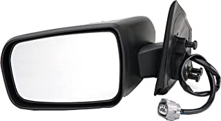 Dorman 955-1787 Driver Side Power Door Mirror - Heated / Folding for Select Mitsubishi Models, Black