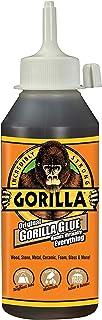 Gorilla 5002801 Original Waterproof Polyurethane Glue, 8 Ounce Bottle, Brown, (Pack of 1)