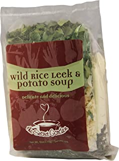 Wild Rice Leek and Potato Soup Mix; VEGAN, All Natural, Just Add Water, Minnesota Wild Rice (1 Pack)
