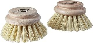 Kuechenprofi 2-Pack Replacement Brush Refill for Classic Dish Washing Brush