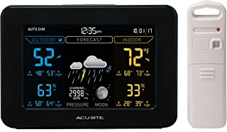 AcuRite 02027A1 Weather Station, Black Display