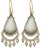 Alexis Bittar - Crystal Lace Chandelier Earrings