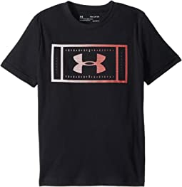 Football Field Short Sleeve Tee (Big Kids)