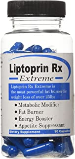 Liptoprin-Rx Extreme - 90 Capsules Natural Weight Loss Pills That Works Fast for Men & Women Best Appetite Suppressant and Thermogenic Fat Burners Supplement Capsules Lose Weight Best Diet Pills