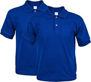 Youth Jersey Polo, 2-Pack