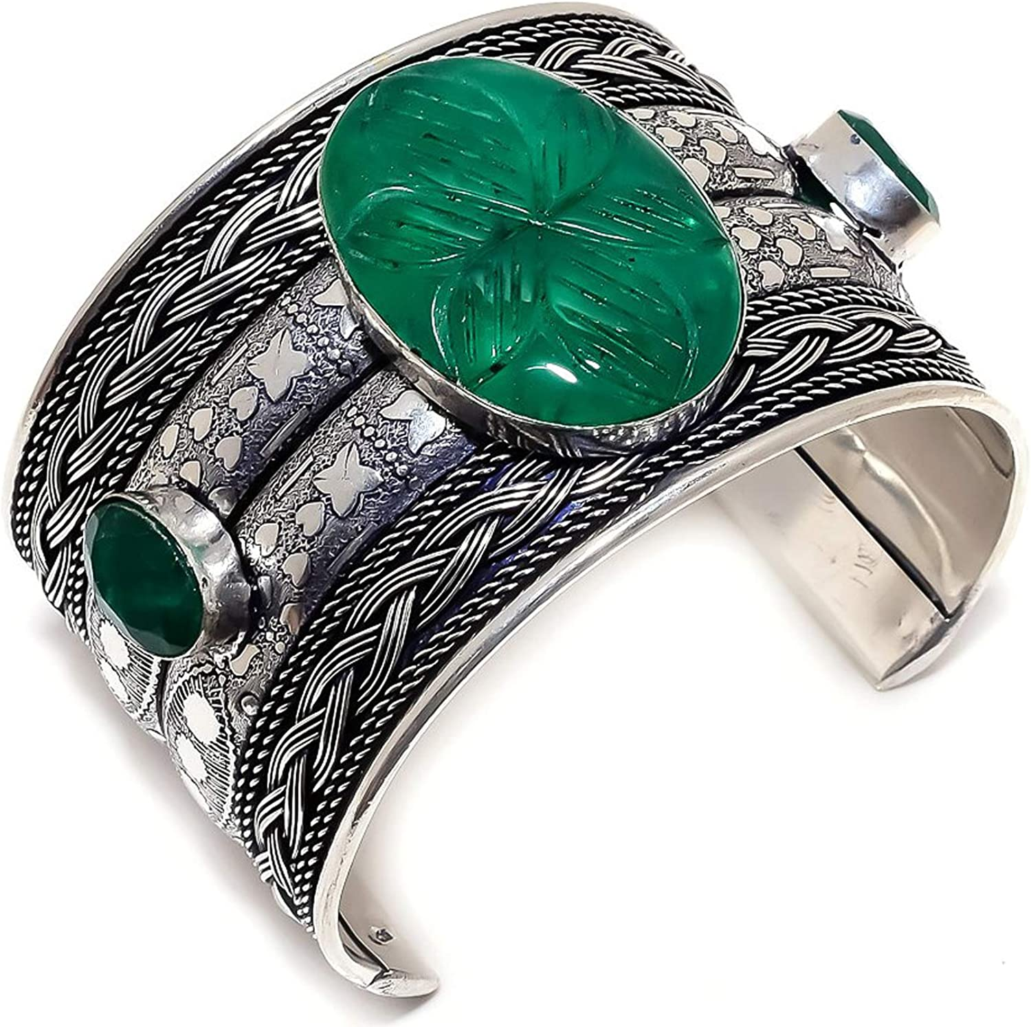 LARA GEMS Popularity STONES AND JEWELLERS Easy-to-use Zambian Carved Mines 925 Emerald