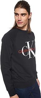 Calvin Klein Jeans - Washed Monogram Sweat, Black