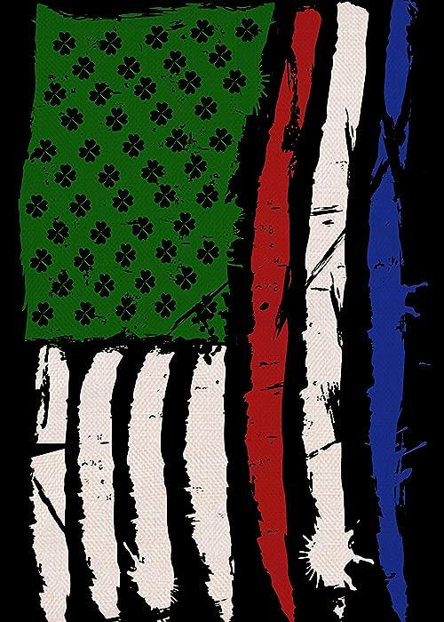The Best Irish American Garden Flag