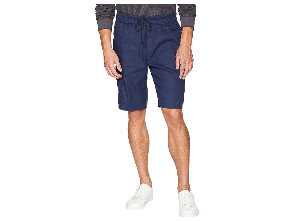 Vince Drawstring Cargo Shorts (Sapphire) Men