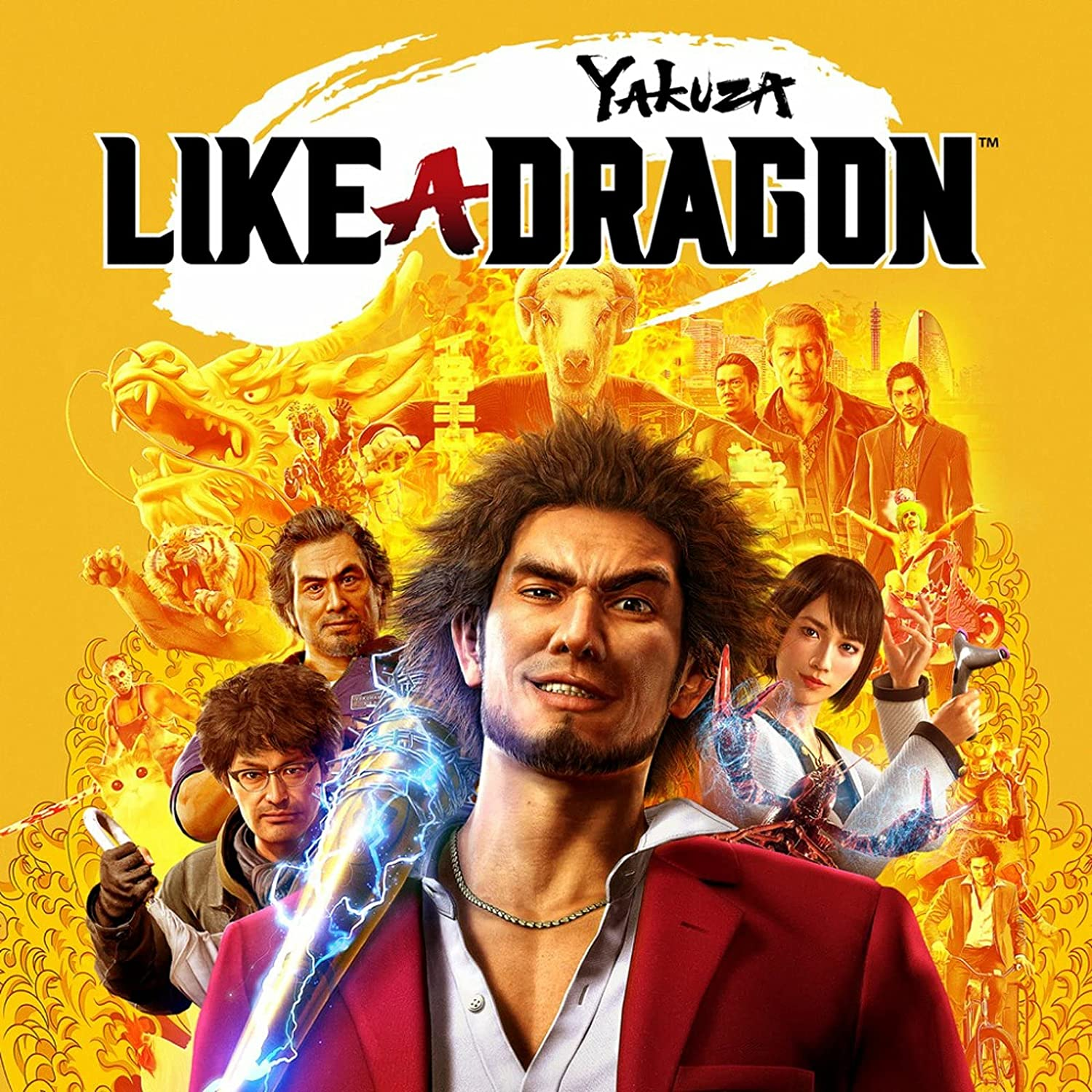Selling Yakuza: Clearance SALE Limited time Like a PS5 Dragon