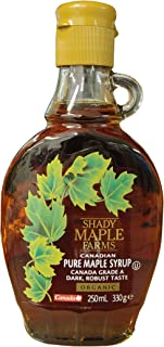 Shady Farm Maple Syrup 250 ML (order 12 for trade outer)