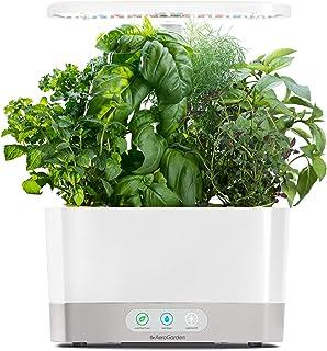 AeroGarden White Harvest Indoor Hydroponic Garden, 2019 Model