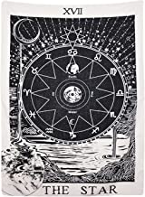 (130cm 150cm , The Star) - BLEUM CADE Tarot Tapestry The Moon The Star The Sun Tapestry Mediaeval Europe Divination Tapest...