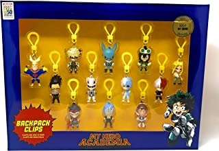 My Hero Academia SDCC Limited Edition Backpack Clips - 12 Figures - Only 1,000 Sets Made