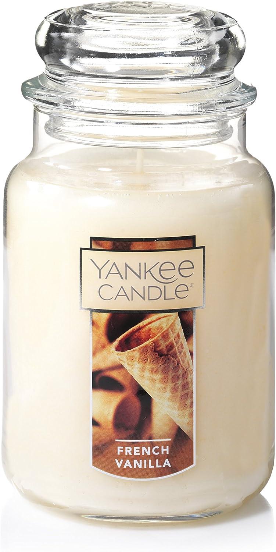 Yankee Max 60% OFF Candle Large Jar Vanilla French Indianapolis Mall