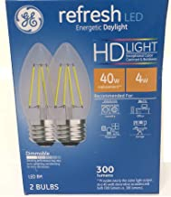 GE 31517 Daylight HD Light 40w Dimmable Pack 2