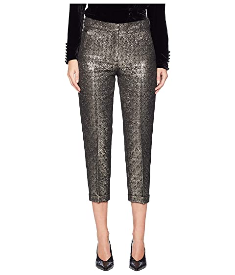 The Kooples Jacquard-Weave Trousers
