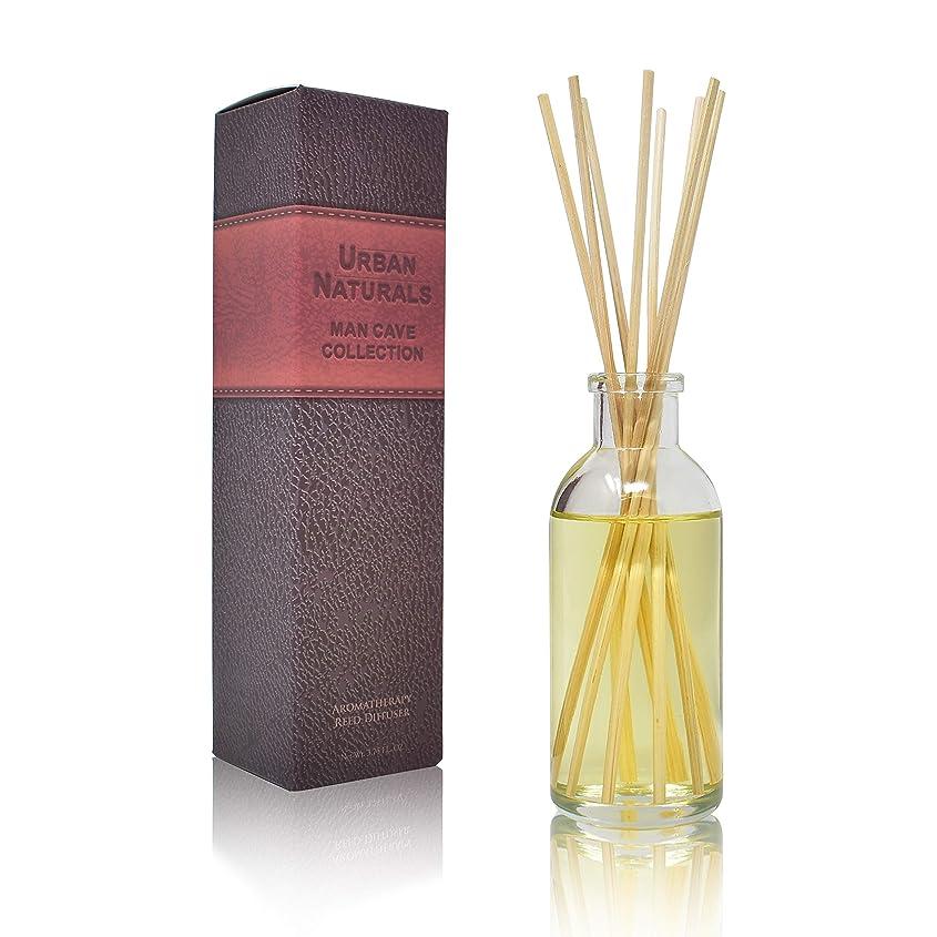 ラベル大胆不敵伝染性のUrban Naturals旅行コレクションの香りホームAmbiance Reed Diffuser Giftセット UN-Diffuser-MANCAVE