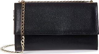 محفظة بطبقتين من فيتوريا نابولي للنساء، سوداء- 3025