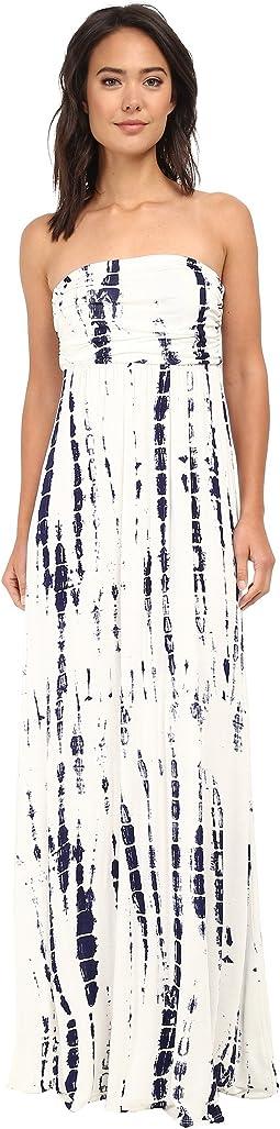 White/Navy Tie-Dye
