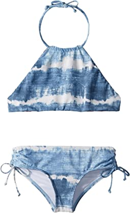 Billabong Kids - Lil Bliss High Neck Set (Little Kids/Big Kids)