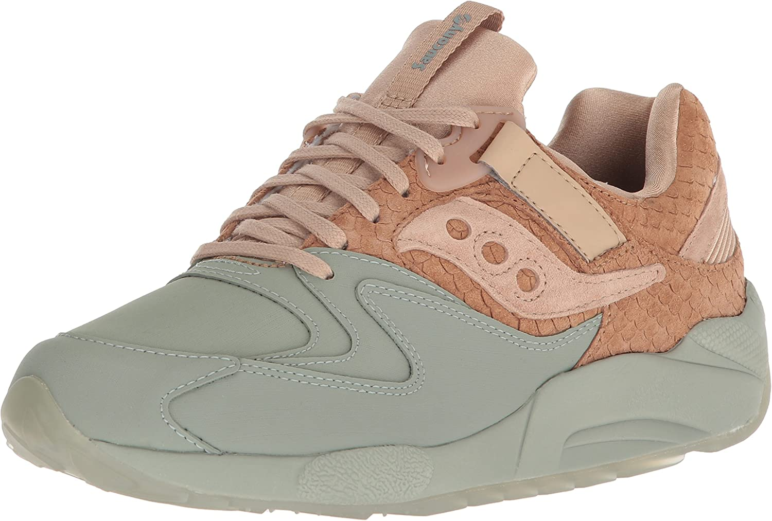 Saucony Originals Men's Grid 9000 HT Running schuhe, Tan Grün, 8.5 Medium US