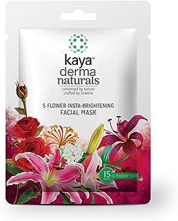 Kaya Clinic 5-Flower Insta-Brightening Facial Mask, 20 g