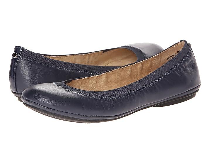 Bandolino  Edition (Navy Leather) Womens Flat Shoes