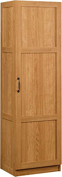 Sauder 419983 Storage Pantry Highland Oak Finish