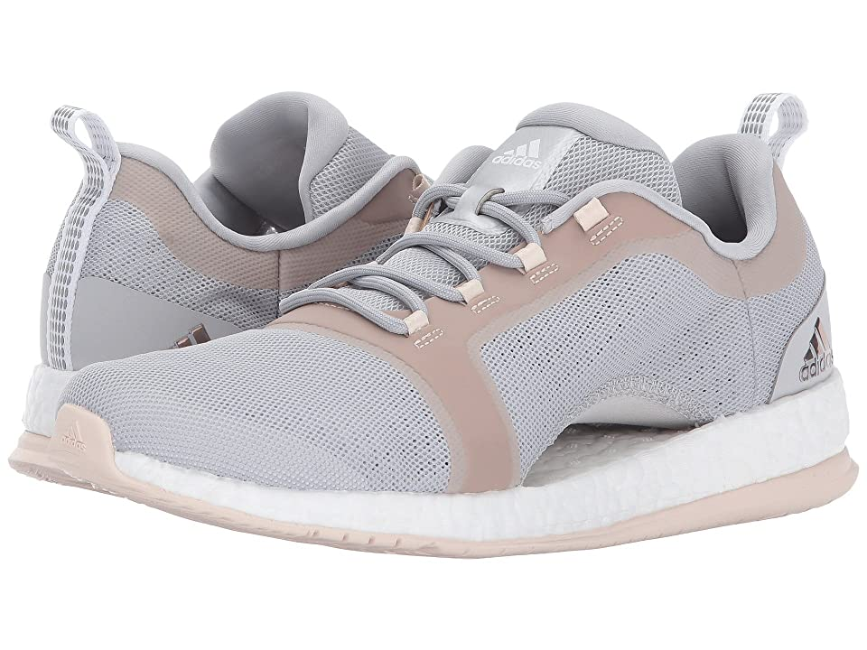 adidas PureBoost X TR 2 (Grey Two/Footwear White/Linen) Women