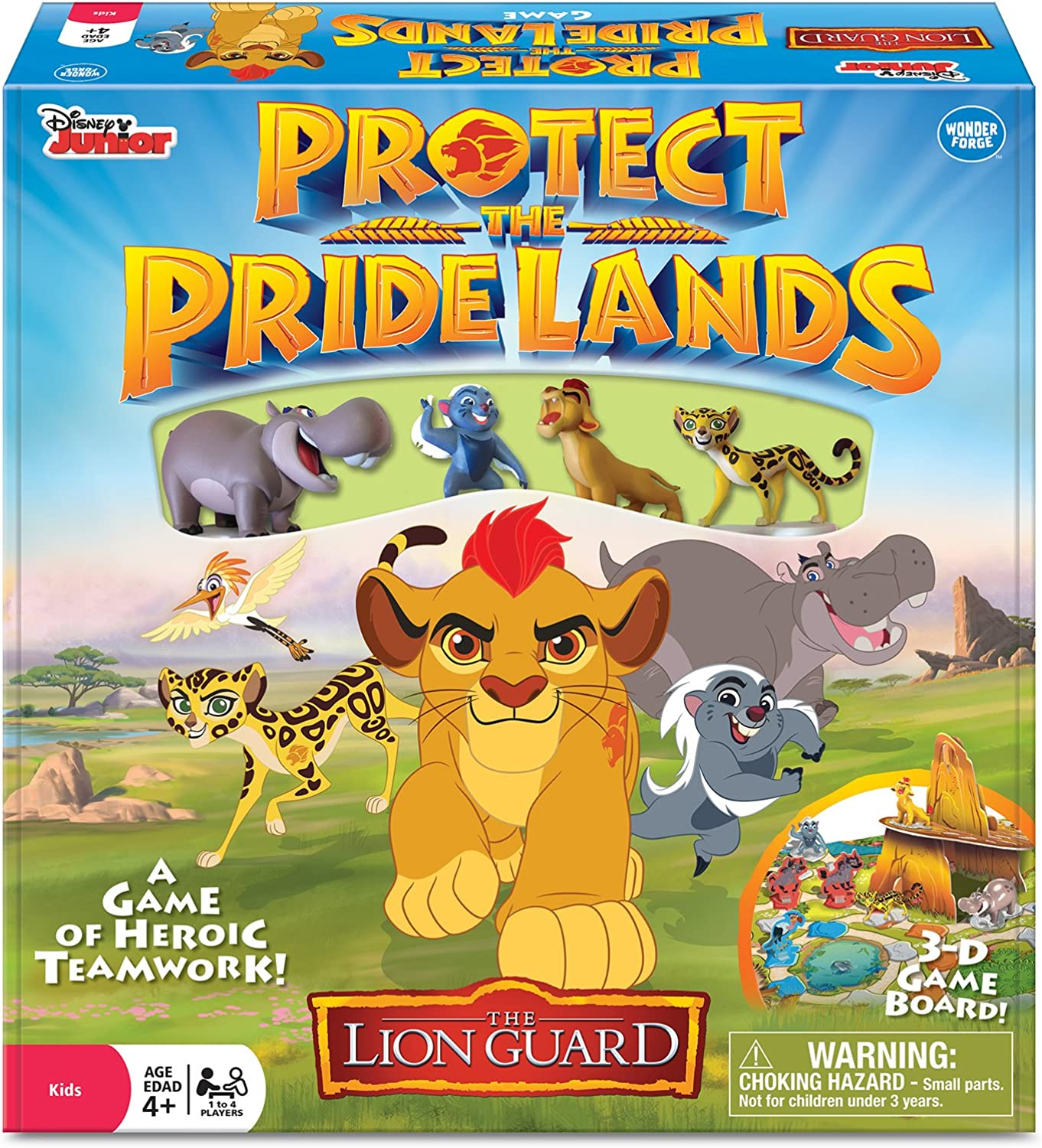 Disney The Lion Guard Prossoect the Pride Les gioco by Wonder Forge