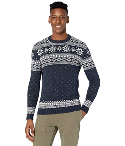 Selected Homme Flake Pattern Crew Neck Sweater (Sky Captain) Men
