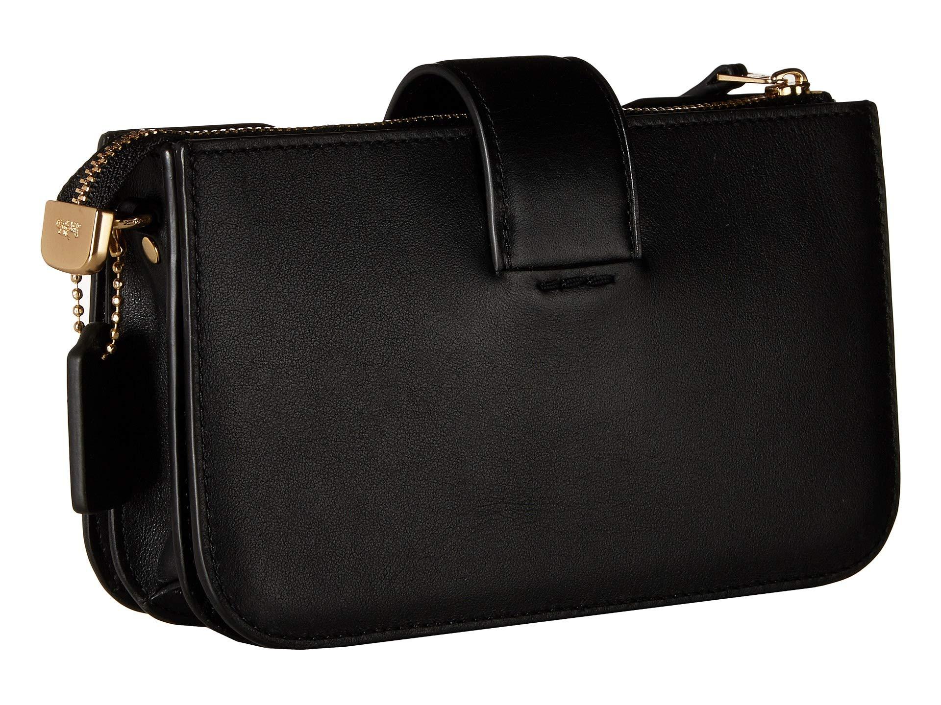 black Crossbody Turnlock Smooth Leather Gd Coach qHXZvFwv