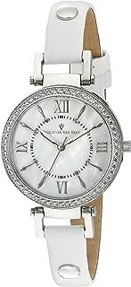 Christian Van Sant Women's CV8130 Petite Analog Display Swiss Quartz White Watch