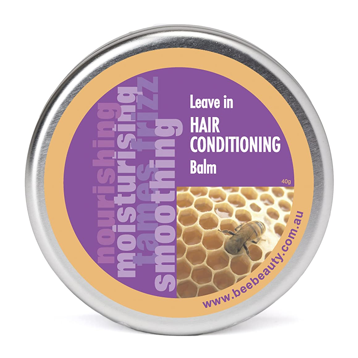 Leave In Hair Conditioner Balm for Curly Frizzy Hair | Deep Conditioning Treatment Healthy Hair | All Natural & Chemical Free | Jojoba Oil & Organic Tasmanian Leatherwood Beeswax