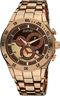 August Steiner Casual Watch Analog Display Chronograph Quartz for Men