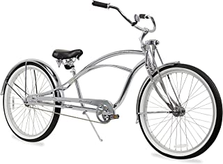 Firmstrong Urban Man Deluxe Single Speed Stretch Beach Cruiser Bicycle