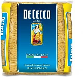 De Cecco Semolina Pasta, Penne Rigate No.41, 5 Pound (Pack of 4)