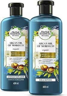 Herbal Essences Bíorenew Shampoo + Acondicionador Argan Oil Of Morocco 400 ml c/u