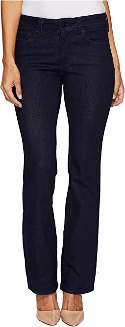 Petite Billie Mini Bootcut Jeans in Rinse