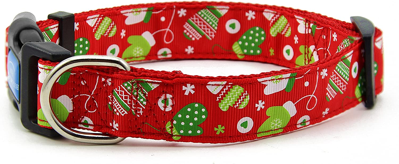 BIG SMILE PAW Nylon Dog Theme Collar Adjustable Sales for sale Christmas Austin Mall Winter