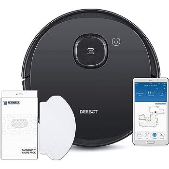 ECOVACS DEEBOT OZMO 950 Care, Robot Aspirador 2 en 1 con función de Limpieza y navegación Inteligente, Google Home, Control de Alexa y aplicación y toallitas limpiadoras: Amazon.es: Hogar