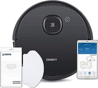 ECOVACS DEEBOT OZMO 950 Care, Robot Aspirador 2 en 1 con función de Limpieza y navegación Inteligente, Google Home, Contro...