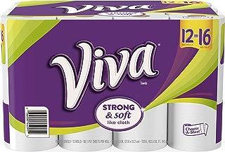 Viva Paper Towel Big Rolls, 88 sheets, 12 rolls