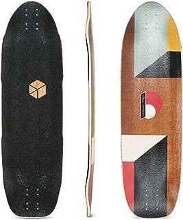 Loaded Boards Truncated Tesseract Bamboo Longboard Skateboard Deck