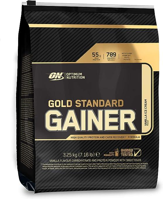 Optimum Nutrition Gold Standard Gainer, Vainilla - 3.25 kg
