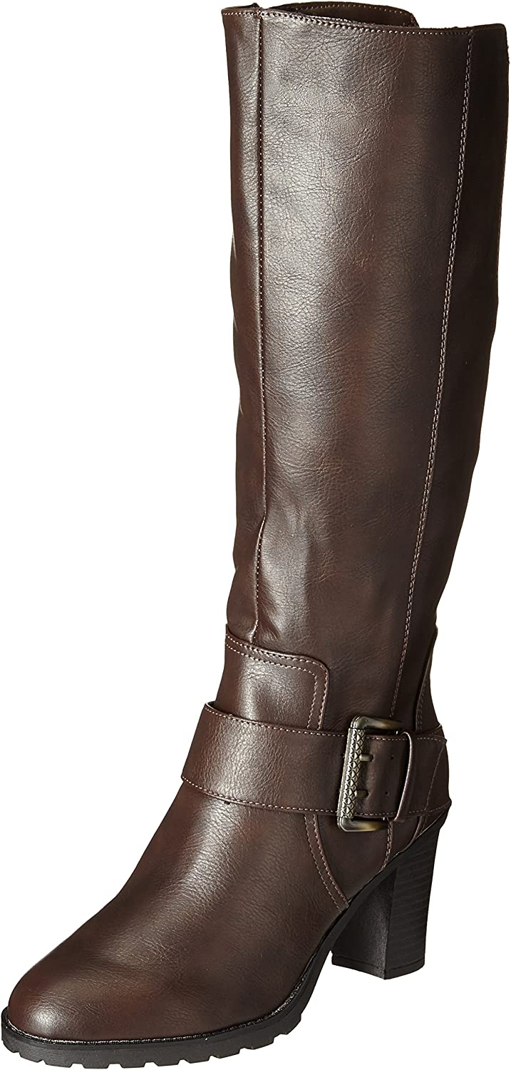 LifeStride Women's Sasha Riding Boot Black
