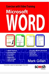 Microsoft Word Exercises with Video Training Paperback
