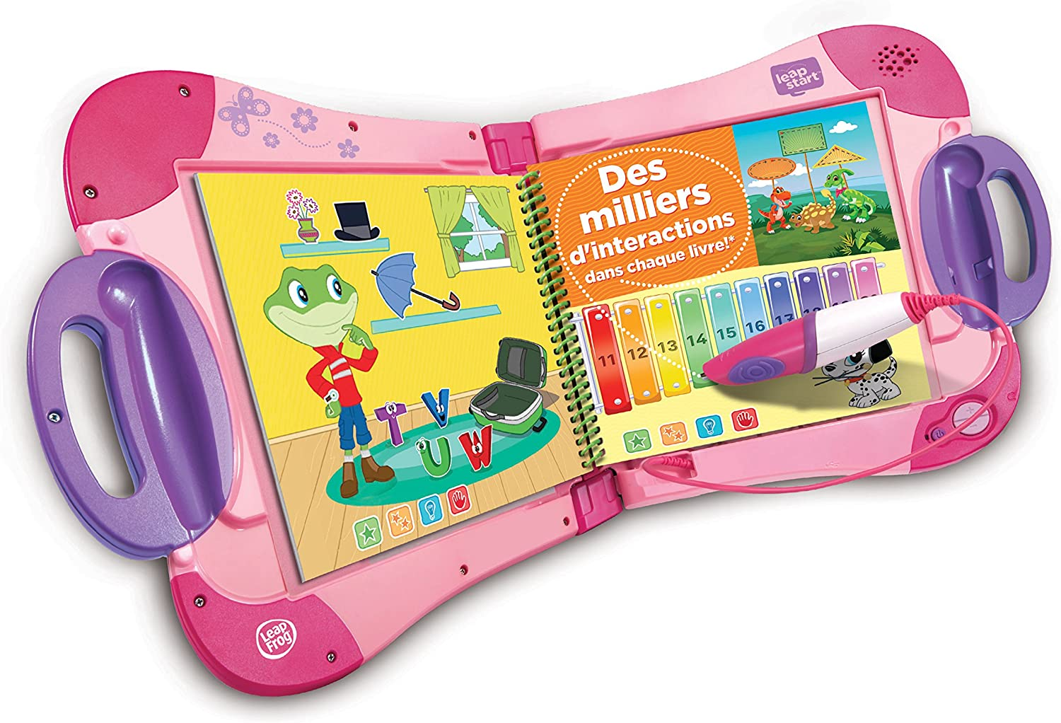 LeapFrog LeapStart Interactive Learning System (Pink) - French Version