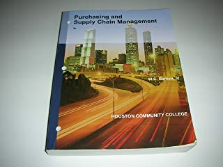 Purchasing and Supply Chain Management Houston community college